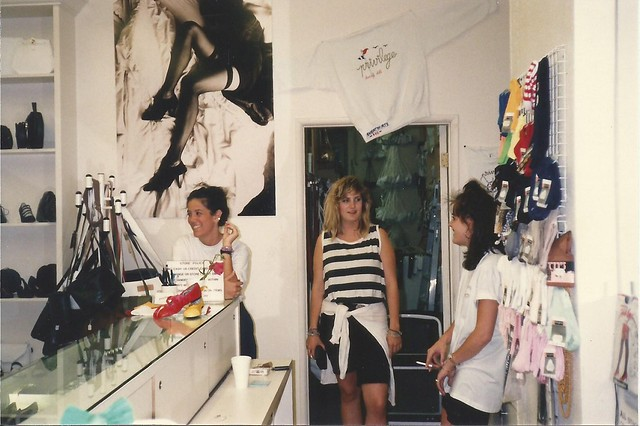 Girls at the Boutique, circa 1988