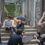 Thu, 19/03/2015 - 2:43pm - WFUV welcomes Gengahr to the Hotel San Jose for a session, 3/19/15. Photo by Laura Fedele