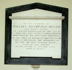 for many years an eminent bookseller in the City of Westminster