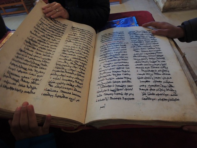 The Bible in the Syriac language by bryandkeith on flickr