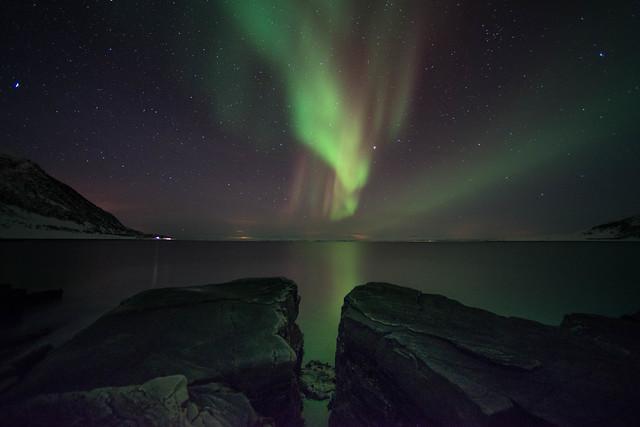 The magic northern lights