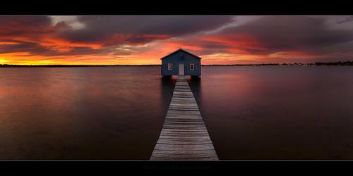 sky water clouds sunrise pier au australia perth wa westernaustralia cpl boatshed forrestfield crawleyboatshed gnd06