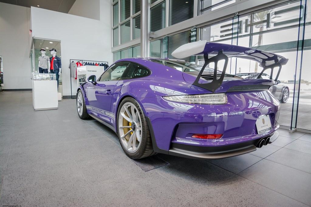 Porsche 911 GT3 RS , Ultraviolet