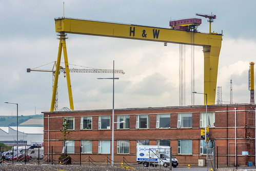 SAMSON AND GOLIATH CRANES IN BELFAST REF-102919 | by infomatique