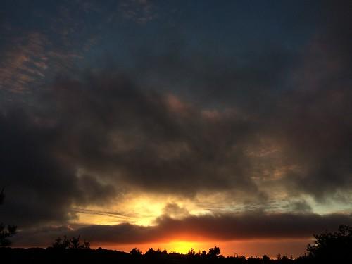 california sunset orange nature colors beautiful clouds landscape monterey illuminate iphone5s