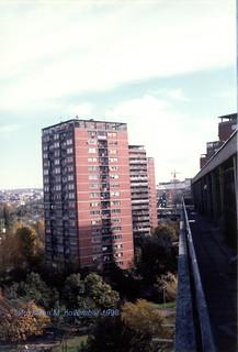 Beograd, šest kaplara, Novi Beograd, novembar 1998 god, blok 21
