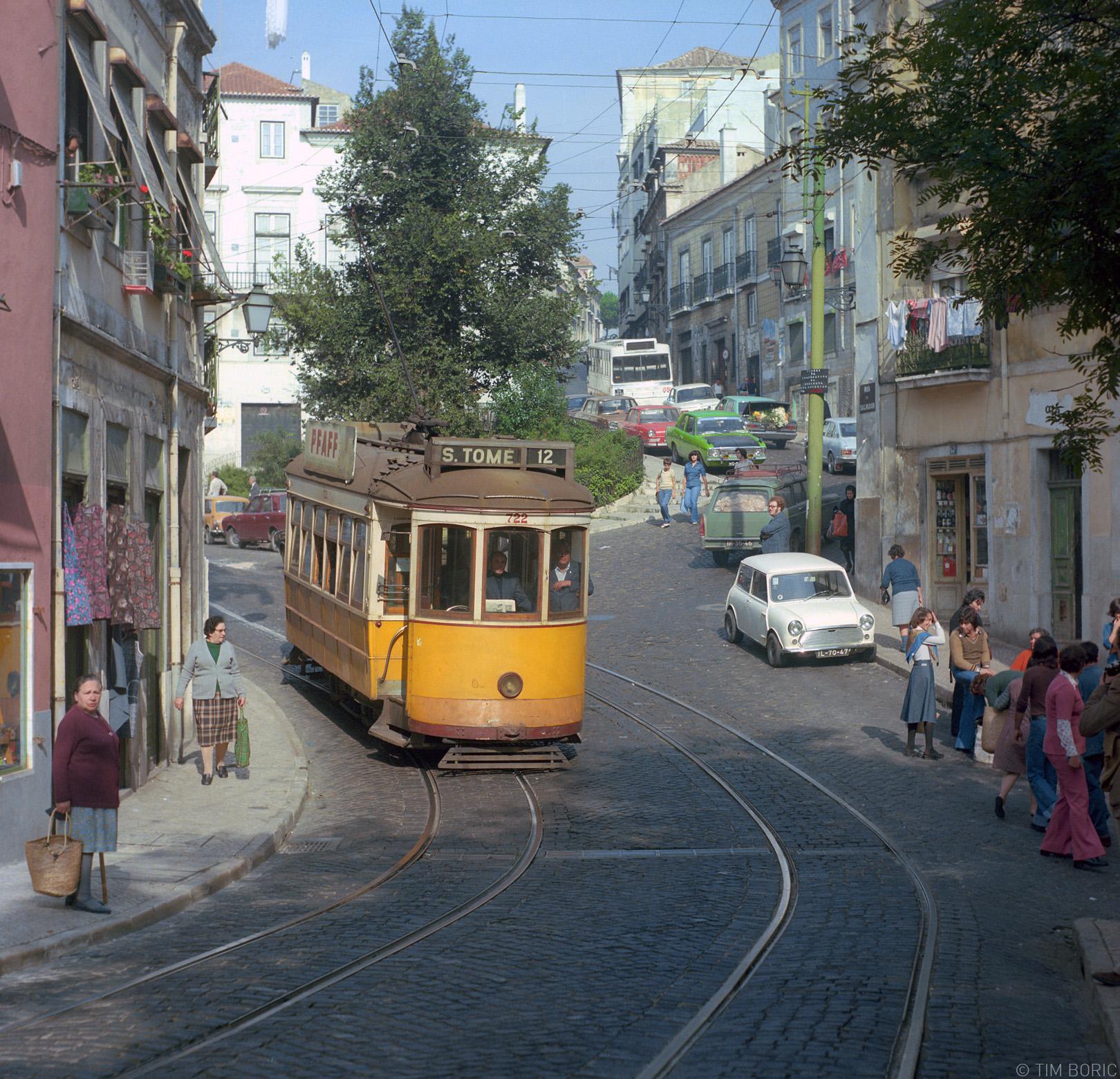 Lisboa (ainda) castiça, Rua do Salvador (T. Boric, 1978)