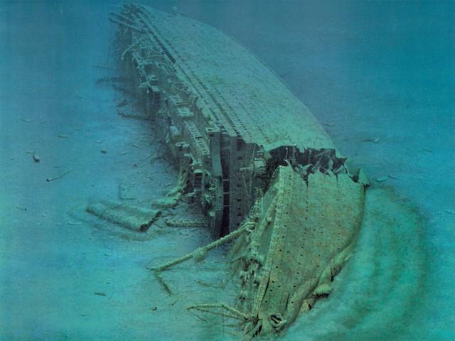 HMHS Britannic wreck