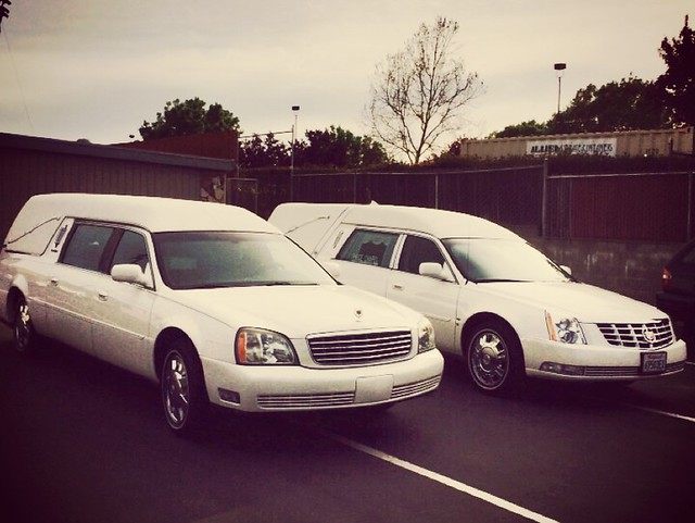 2003 S&S Cadillac Medalist & 2010 Eagle Cadillac Ultimate funeral coaches