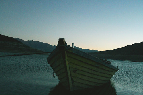 chile old sky nature water vintage landscape boat cool view ride environment ovalle bote tranque montepatria