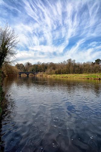 river lancashire clitheroe riverribble westbradford horrocksford horrocksfordbridge westbradfordbridge