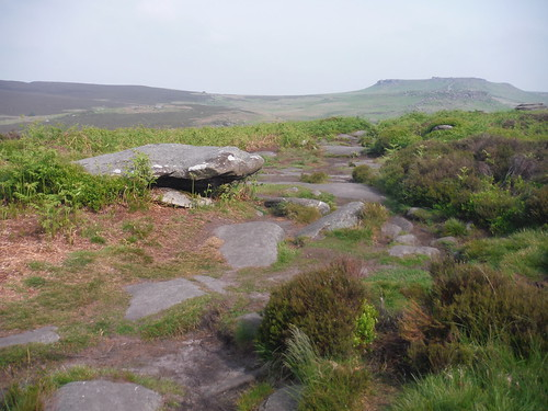 Path from The Fox House Inn through Burbage Moor SWC Walk 266 - Sheffield to Bamford (via Burbage Rocks and Stanage Edge) or to Moscar Lodge