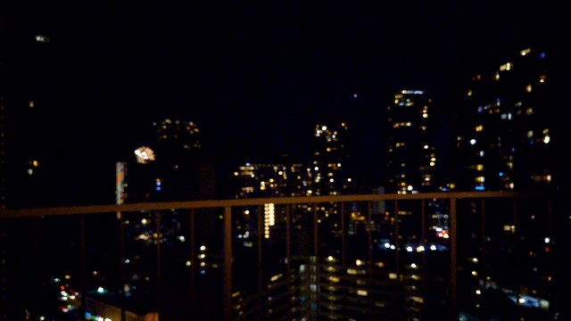 Fireworks every Friday evening from our lanai