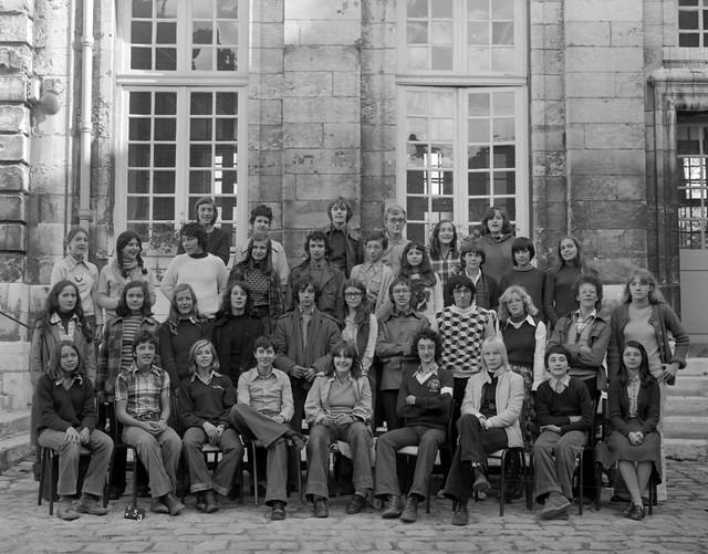 Lycée Pierre Corneille Rouen 1976-1977
