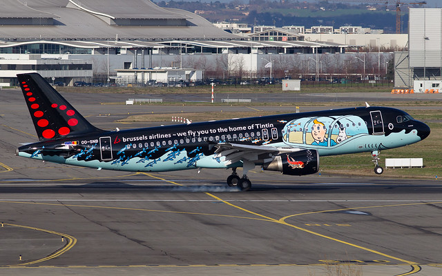 OO-SNB Brussels Airlines Airbus A320-214 - cn 1493