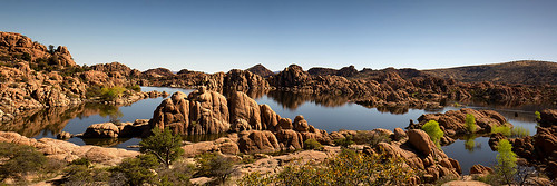 Watson Lake Panoramic  12x36in | by hatch1921