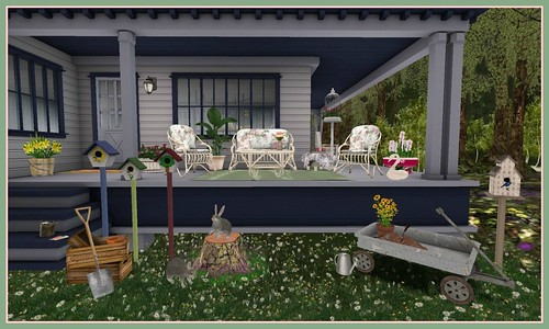 Perfect Ten Event April 2015: Finishing Touches Gram's Patio Set | by Hidden Gems in Second Life (Interior Designer)