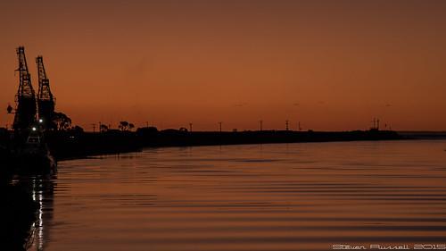 sunset newzealand sun nature water river westcoast greymouth greyriver canon7d