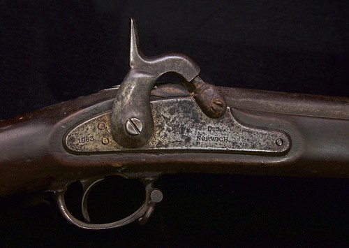 Sgt Charles Smith's Model 1861 musket