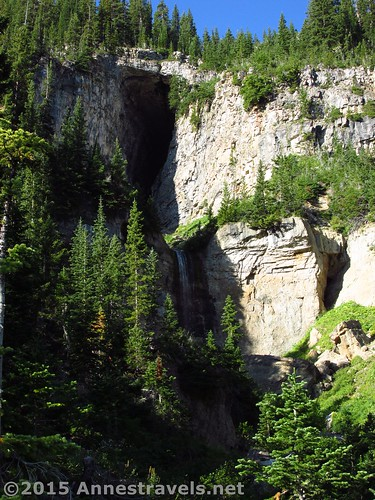 Caves in Upper Darby Canyon, Wyoming
