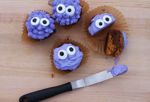 Pumpkin Marble Cupcakes   by niftyfoodie