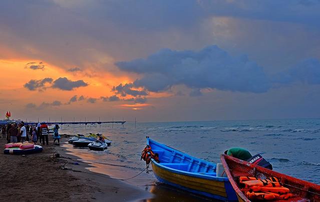 Caspian Sea - Babolsar Beach