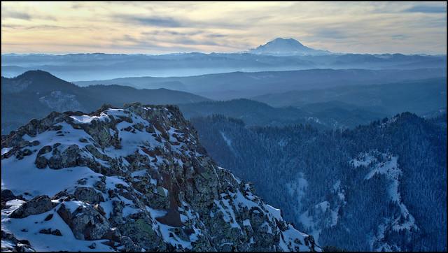 Mount Rainier and Ridges 2