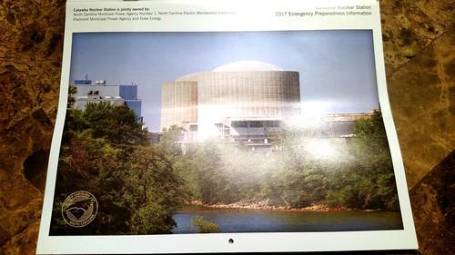 catawba nuclear station dukeenergy 2017 emergency preparedness information calendar top mount mitchell sunrise enjoy