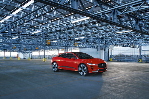 The Jaguar I-PACE Concept will make its European motor show debut at the Geneva Motor | by jaguarmena