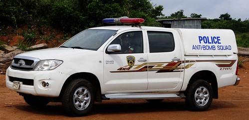 africa lagos nigeria bombsquad hilux policetruck policevehicle lagosnigeria toyotahilux nigeriapolice toyotahiluxtruck toyotahiluxpolicetruck policenigeria nigeriapoliceantibombsquad