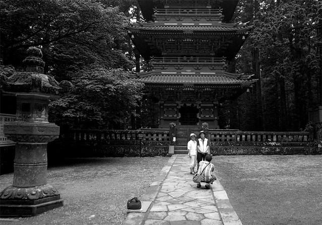 Nikko Tourists