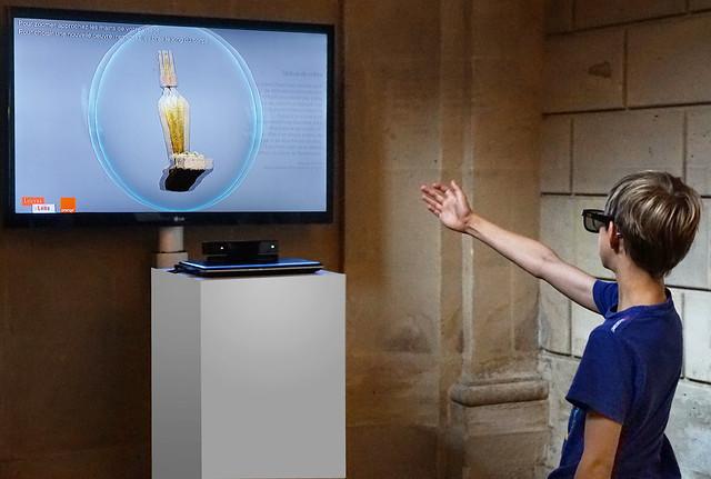 Gestuelle 3D au Louvre Lens (Futur en Seine 2016 Off, Paris)