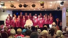 Conducting the Rame Peninsula Male Voice choir