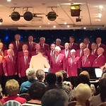 Conducting the Rame Peninsula Male Voice choir