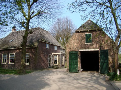 Old farmhouse on the border of The Hague and Wateringen