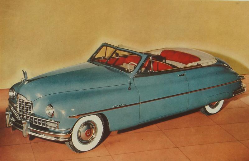 CM062 1949 Packard Car Ad Framed DSC04394 crop
