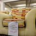 3+1+1 mixed yellow fabric suite