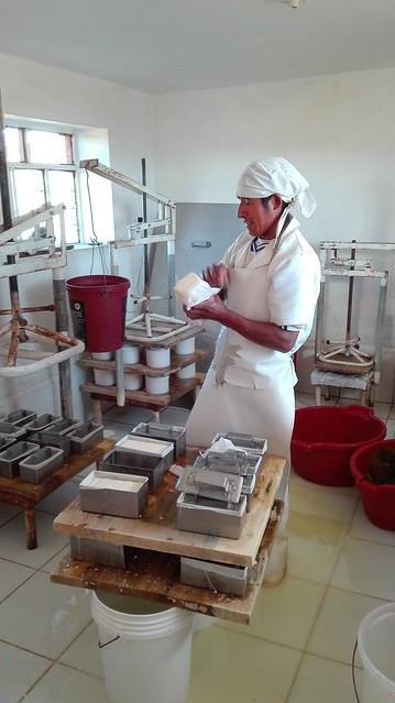 Mejora de la producción de productos lácteos. Perú