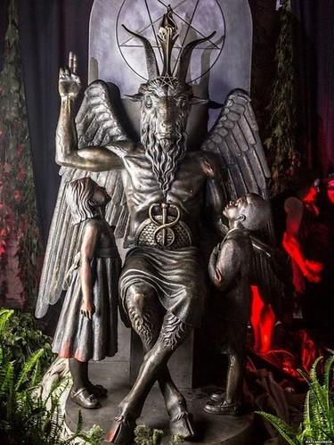 The Satanic Temple Unveils a Massive Statue of Baphomet in Detroit | by Maison de l'Alchimiste