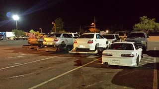 P1 Drift Event After Hours Truck Stop   by Chase.ing