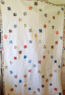 Wonky Stars quilt finished 4-2-15