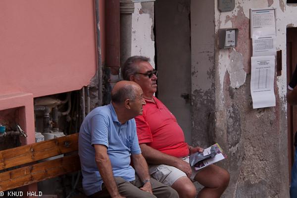 Manarola Toscana old men