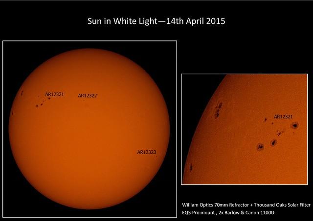 Sun in White Light 14/04/15