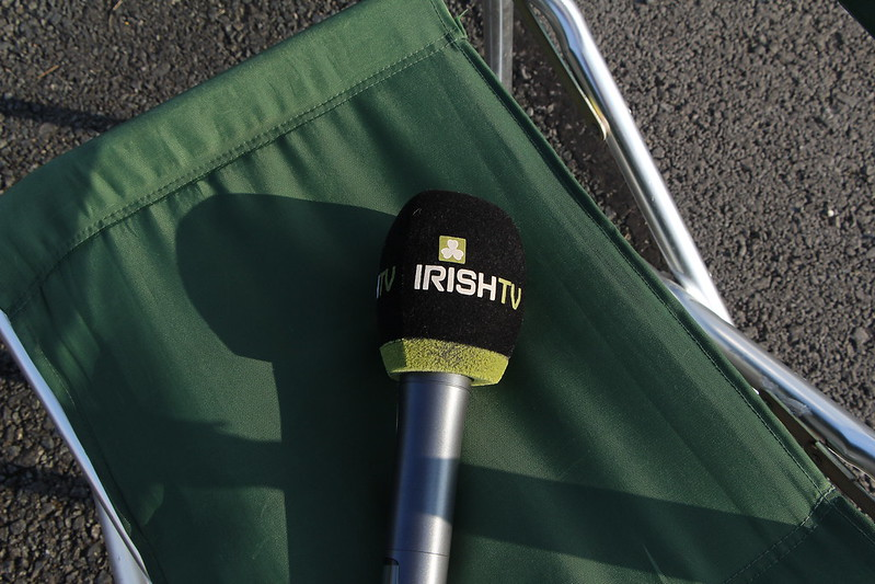 Photographs taken when the crew from #IrishTV came to visit the #StAngeloMFC.