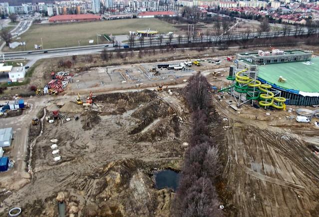 Koszalin aqua-park in construction