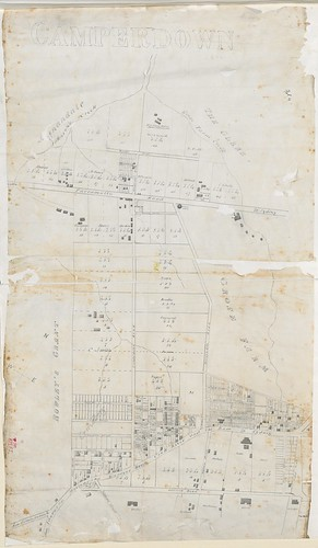 Cumberland Petersham - Camperdown Estate Shewing sub-division [Sketch book 6 folio 4] | by NSW State Archives and Records