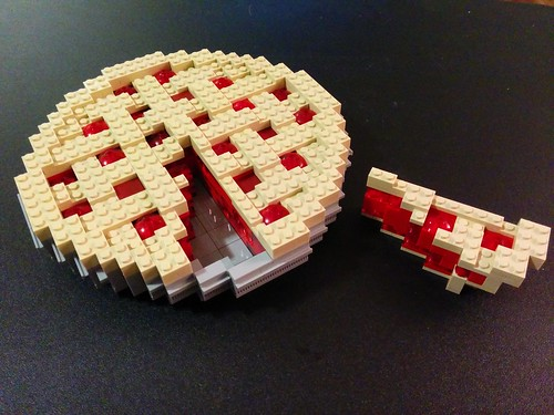 Cherry Pie for Pi Day 2015 with Slice | by Bill Ward's Brickpile