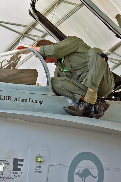 RAAF 3 Squadron Leader Steve Rossiter