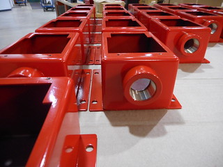 Fire Alarm Box Powder Coating | by diversatechmanufacturing
