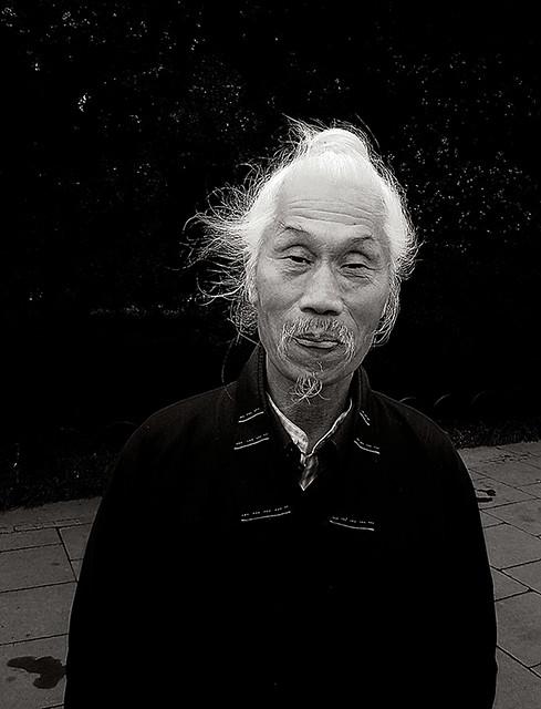 Old man from Beijing / Images by Bjørli Lundin